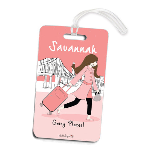 Going Places NYC Travel  Luggage Tags - philoSophie's®