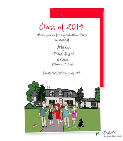 Custom Graduation Invitations - Class of 2019