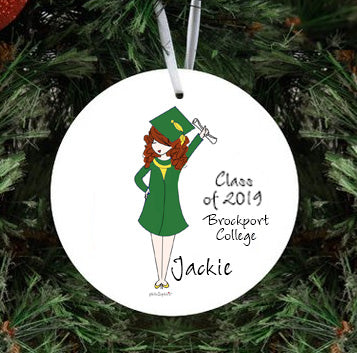 Grad Personalized Mug and Ornament Gift Set