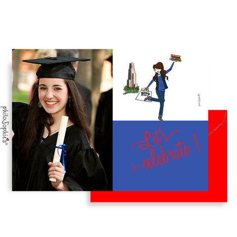Custom Graduation Invitations - Class of 2018 - philoSophie's®