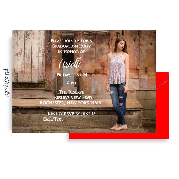 Custom Graduation Invitations - Class of 2017