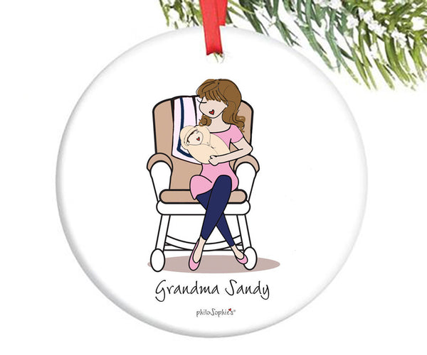 Personalized Grandmother Ornament