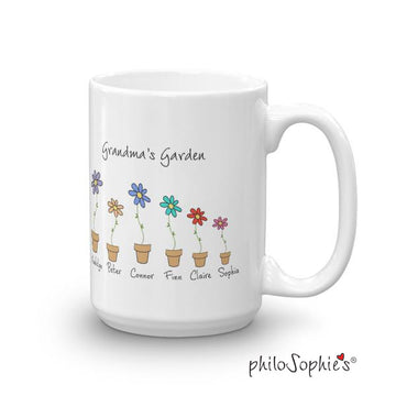 Grandma's Garden - Love Grows Here Mug