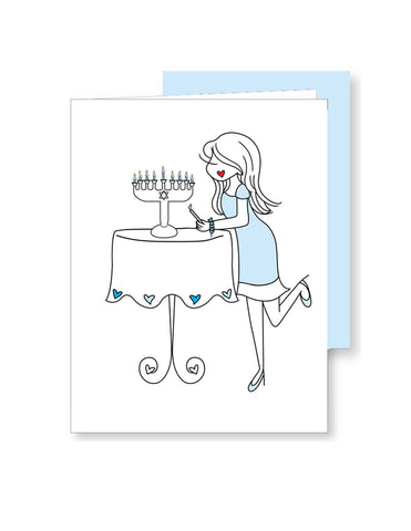 Happy Hanukkah Greeting Card - philoSophie's®