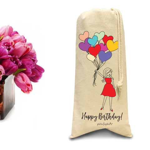 Happy Birthday with philoSophie's Tote/Wine & Spirits Tote