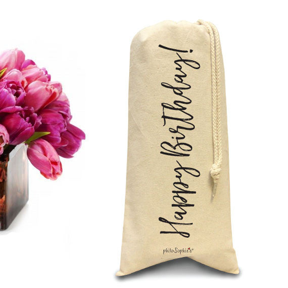 Happy Birthday Tote/Wine & Spirits Tote - philoSophie's®