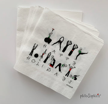 Happy Holiday Workout Napkins