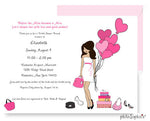 Personalized Bridal Shower - Hearts - philoSophie's®