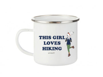 philoSophie's This Girl Loves Hiking- Camp Cup