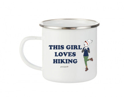 philoSophie's This Girl Loves Hiking- Camp Cup - philoSophie's®