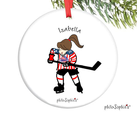 Hockey Ornament - personalized philoSophie's - philoSophie's®