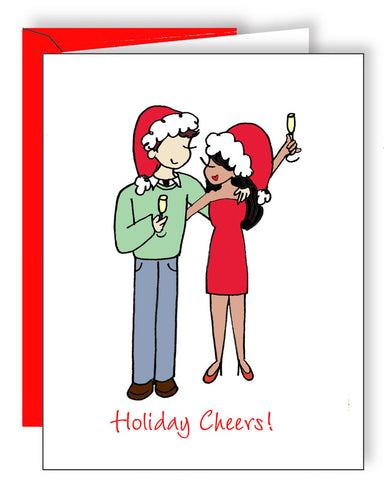 Holiday Cheers Couple - philoSophie's®