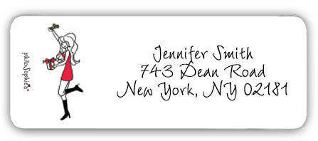 Holiday Cheer!  - Return Address Labels