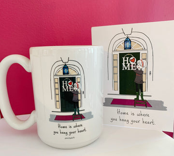 Home is Where You Hang Your Heart Gift Set