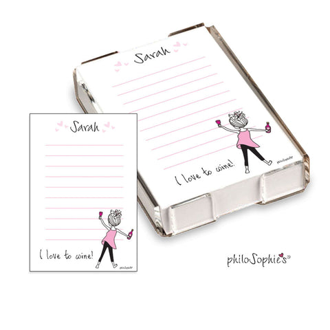 I love to Wine Quick Notes - philoSophie's®