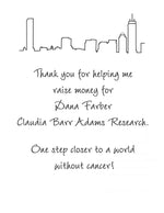 Marathon Personalized Thank You Notes - philoSophie's®