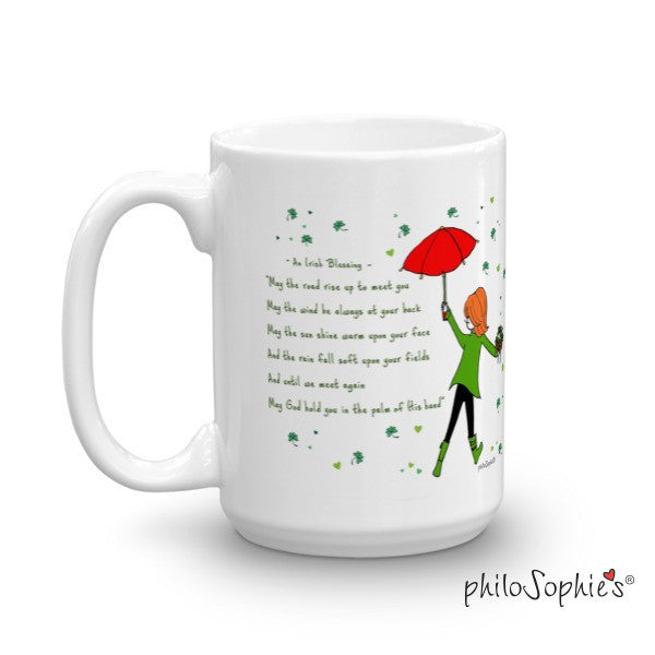 Irish Blessing Mug - St. Patrick's Day Mug - philoSophie's®