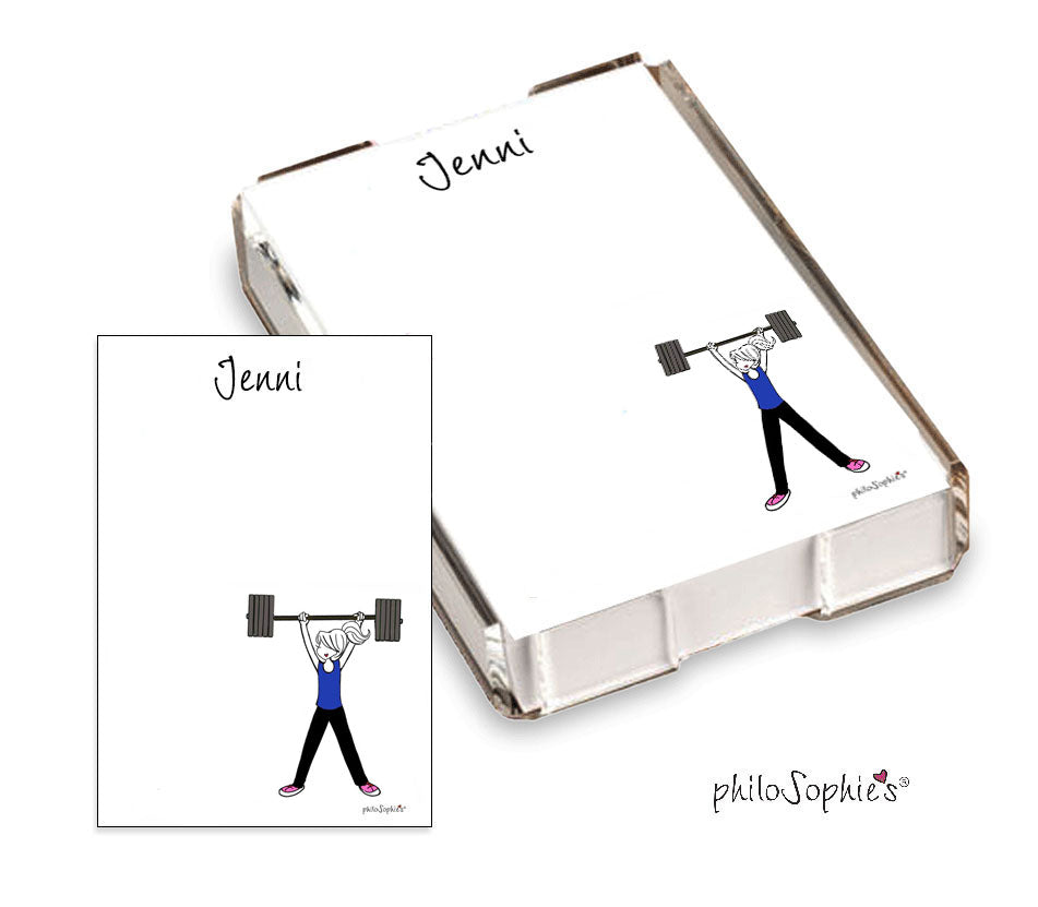 Life's a workout- Lift. Quick Notes - philoSophie's®