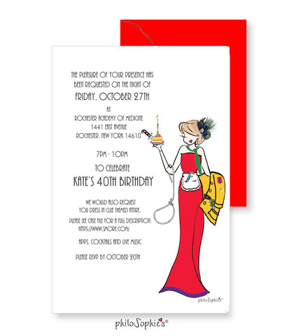 Custom Birthday Invitations - philoSophie's®