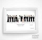"""Us and Our Bridal Party"" Custom philoSophie❤️s® - philoSophie's®"