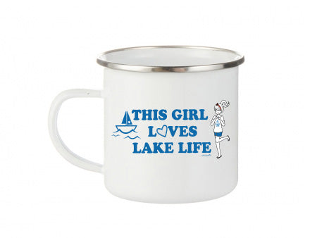 philoSophie's This Girl Loves Lake Life - Camp Cup - philoSophie's®