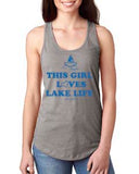 This Girl Loves Lake Life  Tank Top