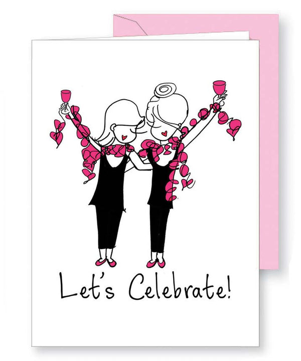 Let's Celebrate - Birthday Greeting Card