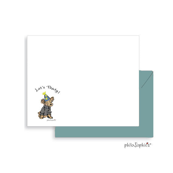 Let's Pawty Notes - Personalized Notes
