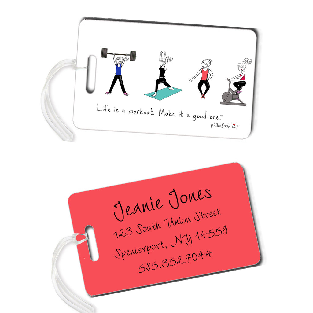 Workout Luggage Tags - philoSophie's®
