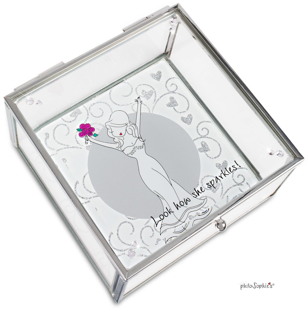 Look how she sparkles Trinket Box - philoSophie's®