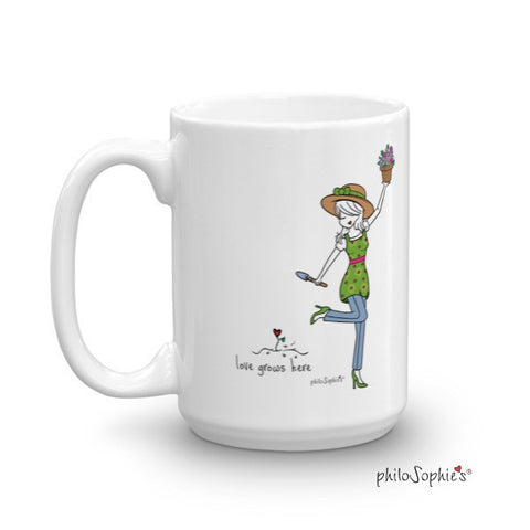 Love Grows Here Mug - philoSophie's®