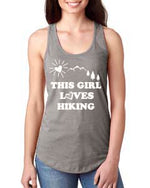 This Girl Loves Hiking Tank Top - philoSophie's®