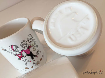 'Everything in Moderation' Friendship Mug 15 ounce Ceramic Mug