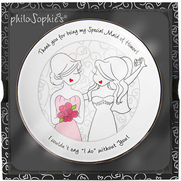 Maid of Honor Jewelry Dish