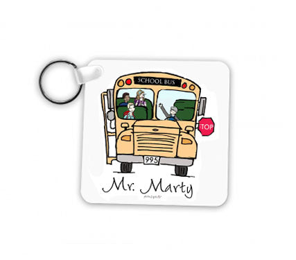 Bus Driver Keychain - Male
