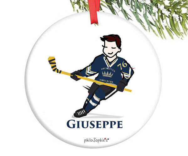 Hockey Ornament - personalized philoSophie's