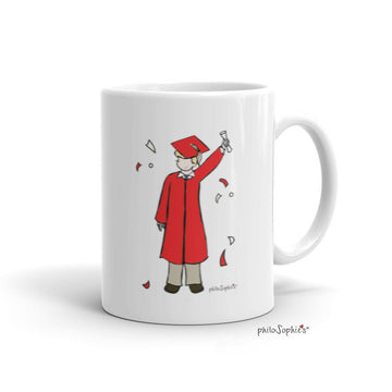 Personalized Class of 2020 Male Grad philoSophie's Mug
