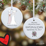 Personalized Bridal Party Ornament - philoSophie's®