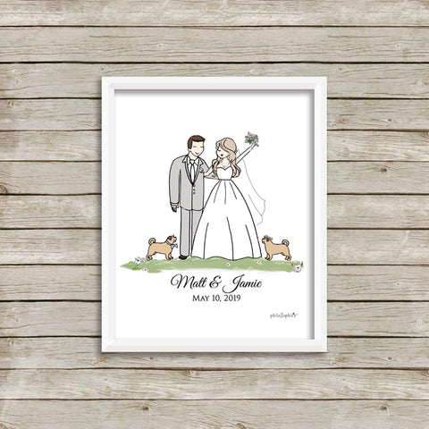 """Our Wedding Day"" Custom philoSophie❤️s®"
