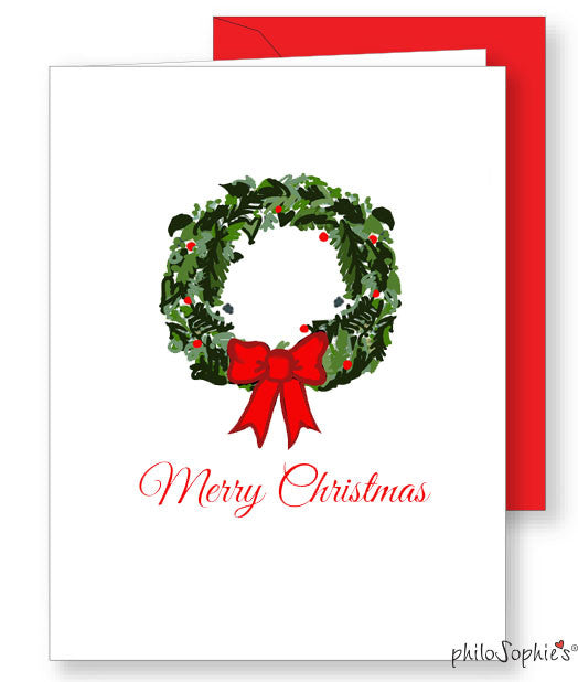 Merry Christmas Greeting Card - philoSophie's®