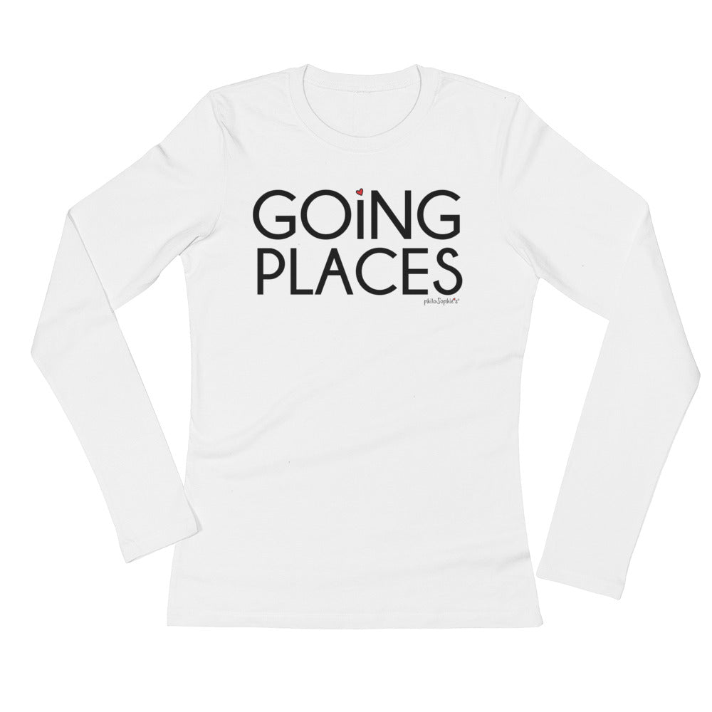 Going Place philoSophie's Ladies' Long Sleeve T-Shirt - philoSophie's®