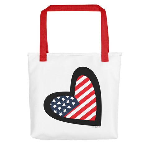 I Heart America - philoSophie's Tote Bag