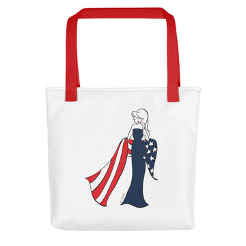 American Flag philoSophie's - Tote bag