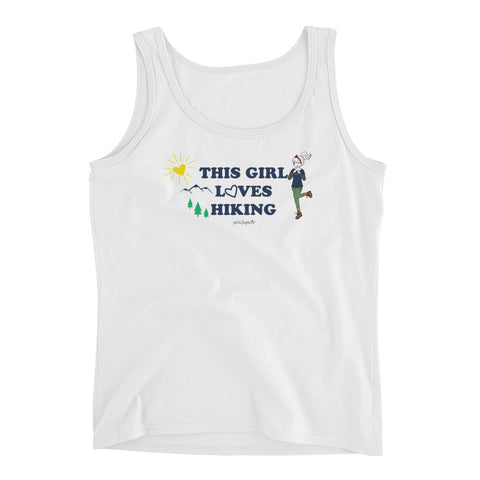 "philoSophie's 'This Girl Loves Hiking"" Ladies' Tank - philoSophie's®"