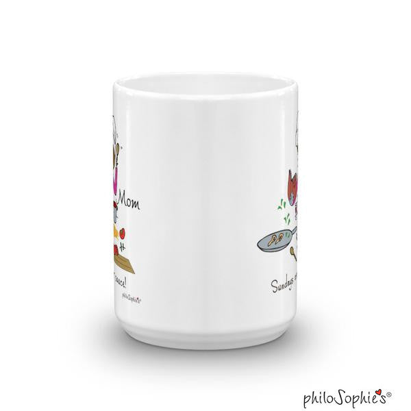 Sunday is for sauce! - personalized mug - philoSophie's®