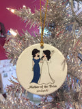 Personalized Mother of the Bride/Groom Ornament - philoSophie's®