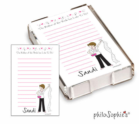Mother of the Bride Quick Notes - philoSophie's®