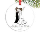 Personalized Mother of the Bride/Groom Ornament