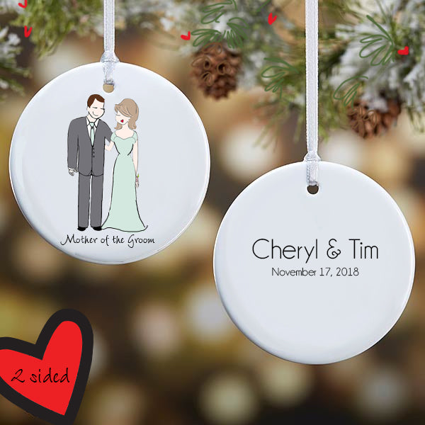 Personalized Mother of the Groom Ornament - philoSophie's®