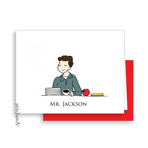 Teacher Note Cards Mr. - philoSophie's®